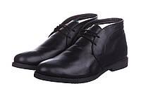 Ботинки мужские CG Desert Boots Winter Suede Black, зимние ботинки челио гуцци черные