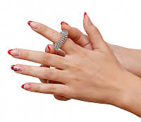 Массжер пружинный на палец №1