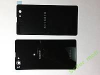 Крышка задняя Sony Xperia  Z1 Compact, D5503 черная.