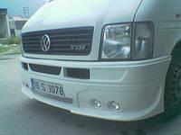 Volkswagen LT 1998+ гг. Передний бампер 4 фары (под покраску)