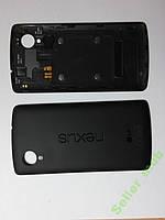 Крышка задняя LG D820,  Nexus 5 с антенной черная o.