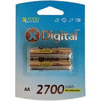 Аккумулятор X-Digital HR6 Ni-MH 2700mAh