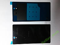 Крышка задняя Sony Xperia Z, C6602,  C6603, L36h черная.