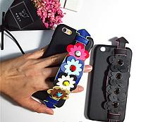 """Iphone 6/6s 4.7 оригинальный кожаный чехол панель бампер накладка НАТУРАЛЬНАЯ КОЖА """" FENDI """""""