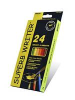 """Кар-ш 24 цв.  """"SUPERB WRІTER"""""""