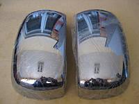 Fiat Doblo I 2001-2005 гг. Накладка на зеркала (2 шт, пласт) Carmos
