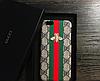 """Iphone 6 / 6S / 6 Plus кожаный чехол панель накладка вышитые принты логоНАТУРАЛЬНАЯ КОЖА """" GUCCI """", фото 5"""