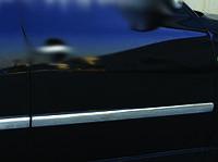 Volkswagen Passat B5 1997-2005 гг. Молдинг дверной (4 шт, нерж) OmsaLine - Итальянская нержавейка