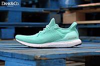 Кроссовки женские Adidas Ultra Boost Teal (в стиле адидас)