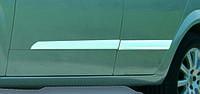 Opel Astra H 2004-2013 гг. Молдинг дверной (4 шт, нерж) Hatchback, OmsaLine - Итальянская нержавейка