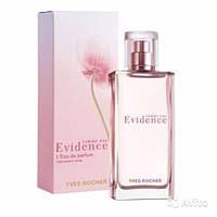Женский парфюм  Yves Rocher evidence 50ml