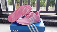 Кроссовки женские Adidas Tubular Runner Pink (адидас)