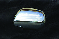 Toyota Camry 2007-2013 гг. Накладки на зеркала (2 шт) Хромированный пластик