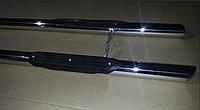Citroen Jumpy 1996-2007 гг. Боковые трубы (2 шт., нерж.) d41, без пластиковых проступей