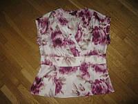 Блузка ШЕЛК 100%, размер 14. НОВАЯ!!!