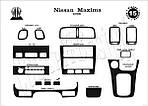 Nissan Maxima 1995-2000 гг. Накладки на панель Карбон