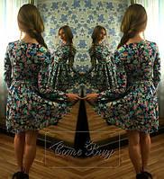 Платье из стрейч джинса