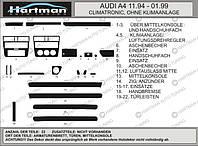 Audi A4 B5 1994-2001 гг. Тюнинг салона 1994-1999 (Хартман) Черный цвет