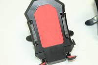 Держатель для телефона автомобильный (на воздухозаборник) Красный