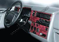 Volkswagen T4 Caravelle/Multivan Накладки на торпеду, Meric Алюминий