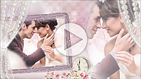 Шаблоны «Романтическое слайд-шоу»