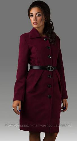Пальто женское пуговицы