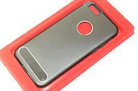Чехол на Apple IPhone 5/5S/SE задняя крышка металлическая черная Black