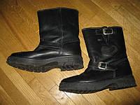Мотоботы кожаные AUSTRIA PURATEX на МЕХУ, 40р,25см