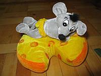 Мыша на сыре, мягкая игрушка