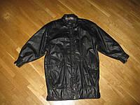 Куртка кожаная AVANTI VERA PELLE, L-XL (как новая)
