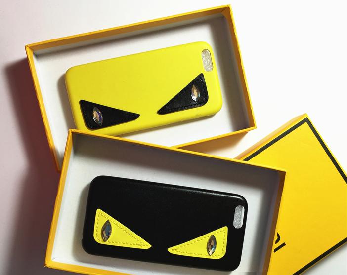 """Iphone 7 / 7 PLUS оригинальный кожаный чехол панель бампер накладка НАТУРАЛЬНАЯ КОЖА """" FENDI """""""
