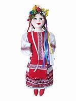 Кукла сувенирная-оберег Украиночка (белая юбка) (Куклы)