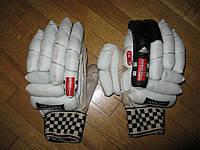 Перчатки для крикета GRAY NICOLLS, кожаные, M-L
