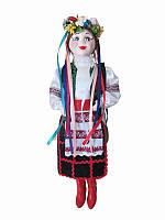 Кукла сувенирная-оберег Украиночка (черная юбка) (Куклы)