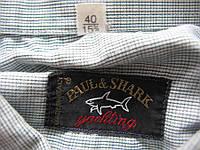 Рубашка PAUL&SHARK ИТАЛИЯ 100% хлопок, М-L