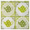 Салфетка Чай зеленый