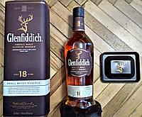 Шотландский олносолодовый виски Гленфиддик / Glenfiddich 18 лет в тубе 0.7, фото 1