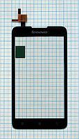 Тачскрин сенсорное стекло для Lenovo A529 black