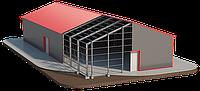 Строительство модульных зданий. Ангары быстровозводимые