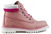 Женские ботинки Palet  AS-01202 розовые