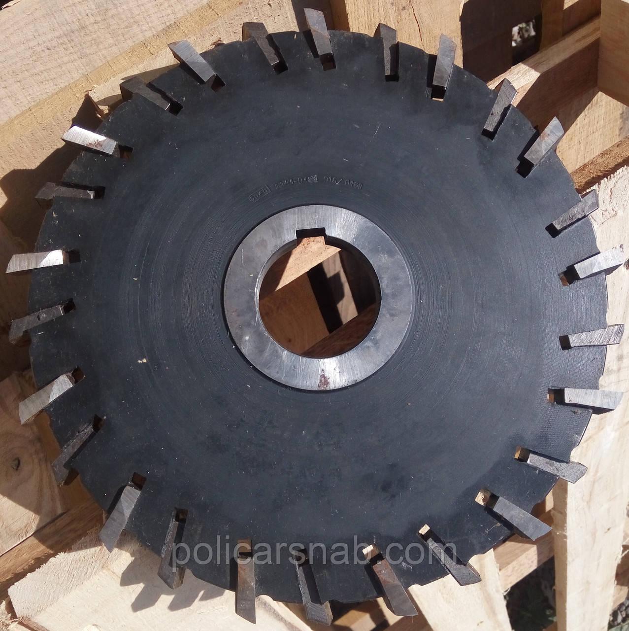 Фреза дисковая 3-х сторонняя 250х18х50 со вставными ножами - ТОВ «ПОЛІКАРСНАБ» в Житомире