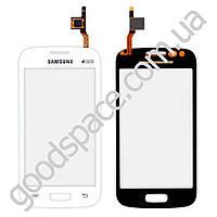 Тачскрин (сенсор) Samsung S7260, S7262 Galaxy Star Pro, цвет белый, копия высокого качества