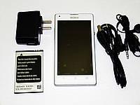 "Телефон Sony L35H экран 4.5"", 2 ядра, WiFi, 2 sim, Android 4, фото 1"