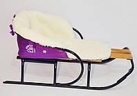 Чехол на санки (меховой матрасик) на овчине Матрасик