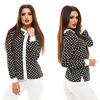 Блуза женская шифоновая с пуговицами P3747