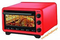 Электродуховка  SATURN ST-EC10702 (вертел) красный