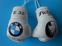 Мини боксерские перчатки PITBULL KYIV , подарок, сувенир, брелок