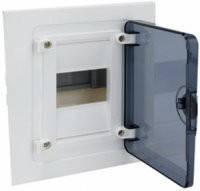 Щит распределительный внутренний GOLF VF104TD на 4 модуля, прозрачная дверца