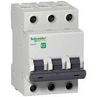 Выключатель нагрузки (мини-рубильник) SCHNEIDER EZ9 3P, 400В, 100А/5кА, EZ9S16391