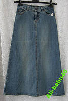 Юбка джинс Trux jeans р.40-42, фото 1